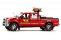Sword ALL Crane - Ford F250 XLT Pickup Crew Cab with Rack and Toolbox
